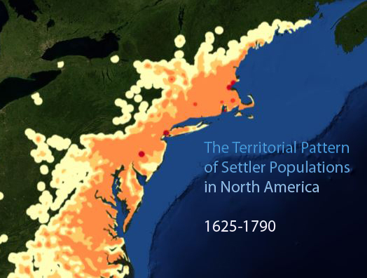 The Territorial Pattern of Settler Populations in North America